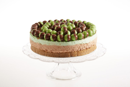Mint Aero Cheesecake