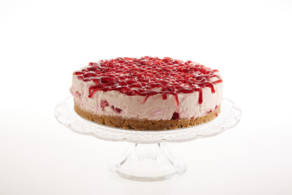 Raspberry Mallow Cheesecake